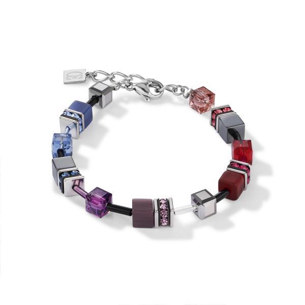 GeoCUBE® Armband multicolor art nouveau 2840_30-1578