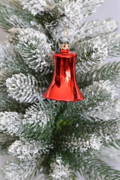 Rot Glocken Uni 5cm 4er Set RG_GL_S4