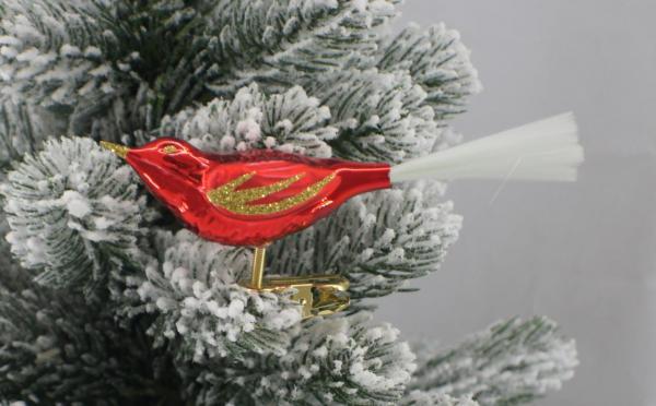 Rot Vogel mit Glasfaser R_VOG