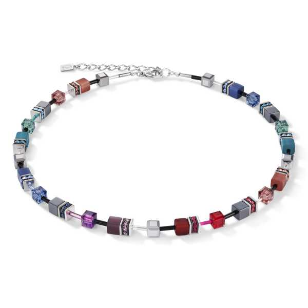 GeoCUBE® Halskette multicolor art nouveau