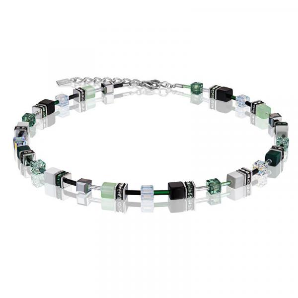GeoCUBE® Halskette grün