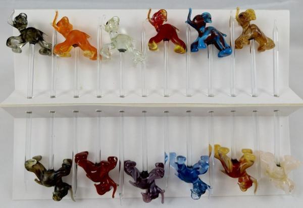 Bowlespieß Elefant bunt sortiert 12er Set