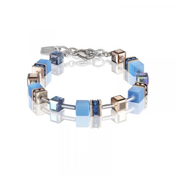 GeoCUBE® Armband blau