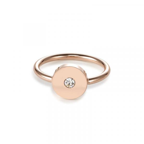 Ring SparklingCOINS Edelstahl roségold 5000_40-1620_56