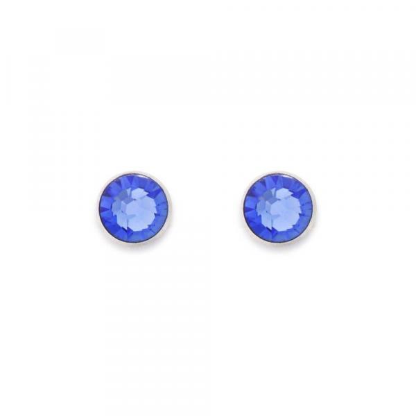 Ohrringe Swarovski® Kristalle blau 0042_21-0700