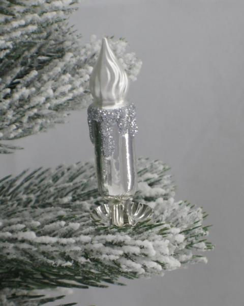 Silber Kerze