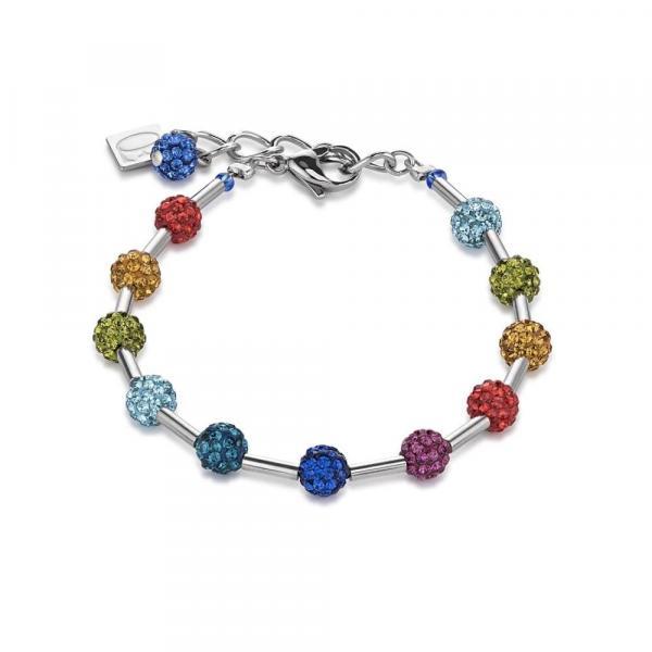 Armband Pavé-Kristalle multicolor