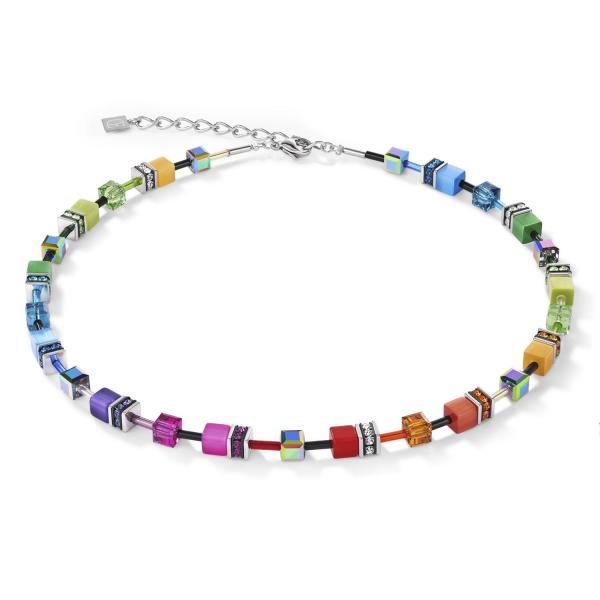 GeoCUBE® Halskette multicolor rainbow 2838_10-1520