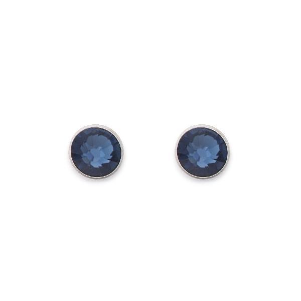 Ohrringe Swarovski® Kristalle dunkelblau 0042_21-0721