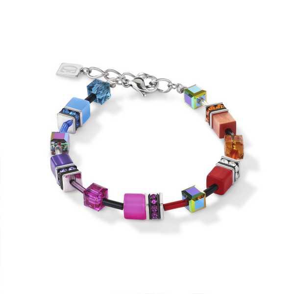 GeoCUBE® Armband multicolor rainbow