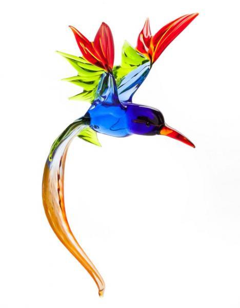 Paradiesvogel aus Glas zum Hängen (V1) BC-PV1