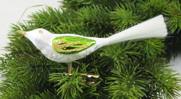 Eisweissgrün Vogel mit Glasfaser EWG_VOG