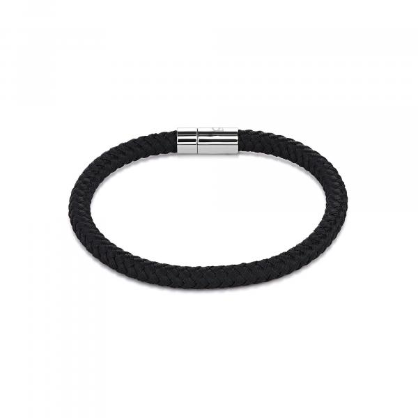 Armband Textil Magnetverschluß schwarz 0115_31-1300