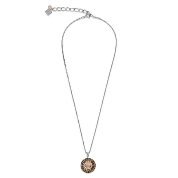 Halskette Edelstahl Swarovski® Kristall nude 4982_10-1000