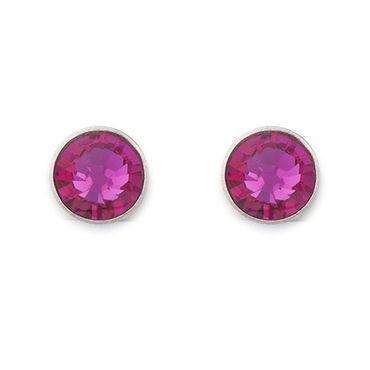 Ohrringe Swarovski® Kristalle pink 0042_21-0400