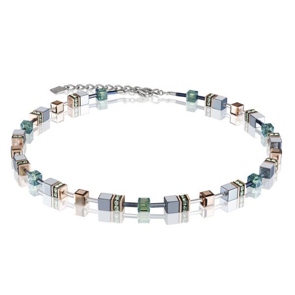 GeoCUBE® Halskette salbeigrün