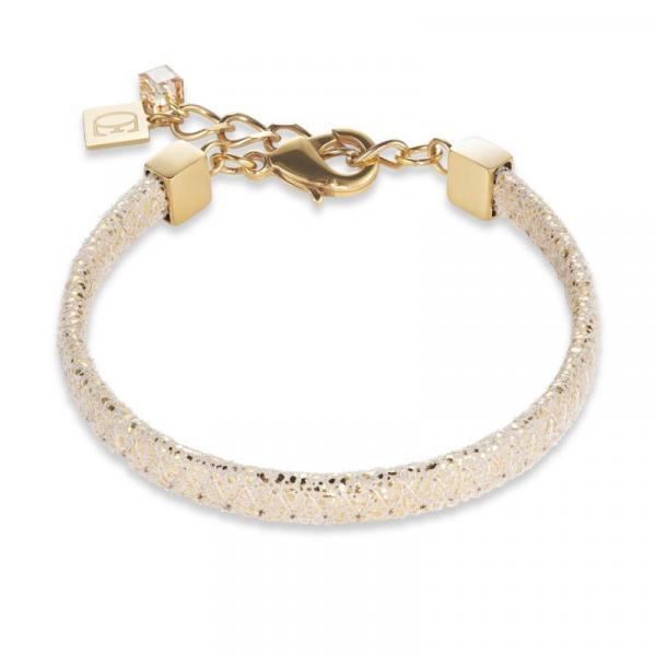 Armband Nappa-Leder gold