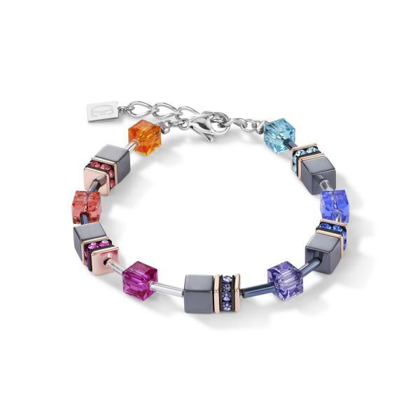 GeoCUBE® Armband multicolor 4015_30-1500