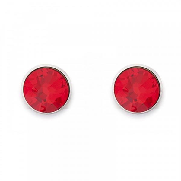 Ohrringe Swarovski® Kristalle rot 0042_21-0300