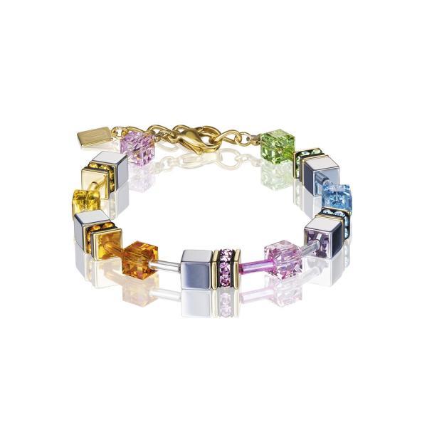GeoCUBE® Armband multicolor pastell 1 4015_30-1522