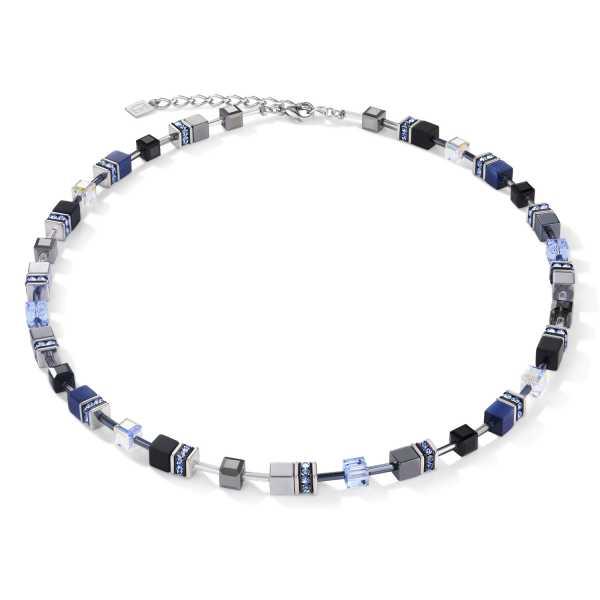 Halskette GeoCUBE® medium blau