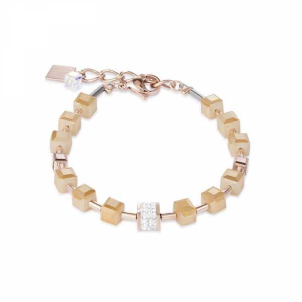 Armband Pavé-Kristalle Swarovski® Kristalle nude