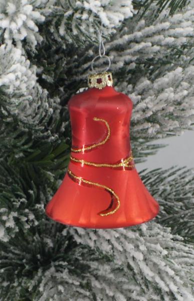 Eisrot Glocken 5cm 4er Set ER_GL_S4