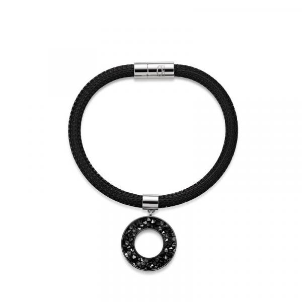 Armband Swarovski® Kristalle emaillierte Mesh-Kette
