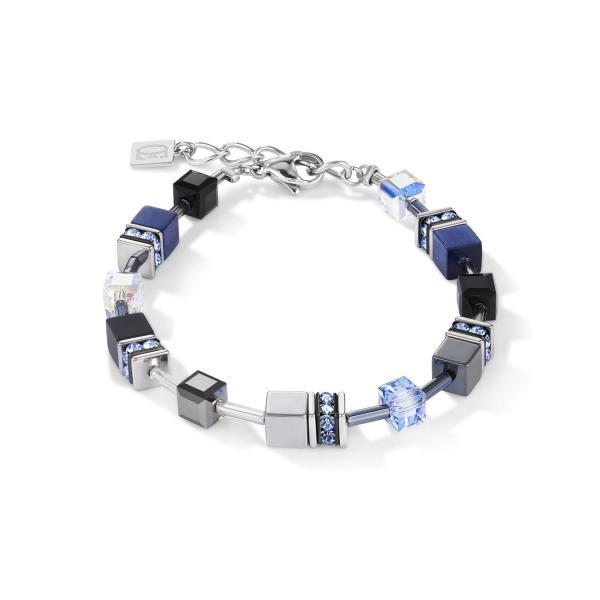 Armband GeoCUBE® medium blau 5011_30-0700