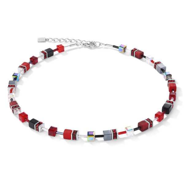 GeoCUBE® Halskette rot-hämatit