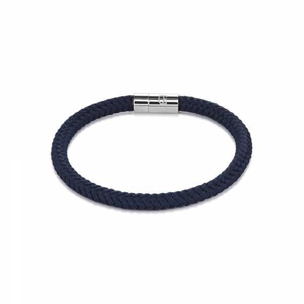 Armband Textil Magnetverschluß dunkelblau