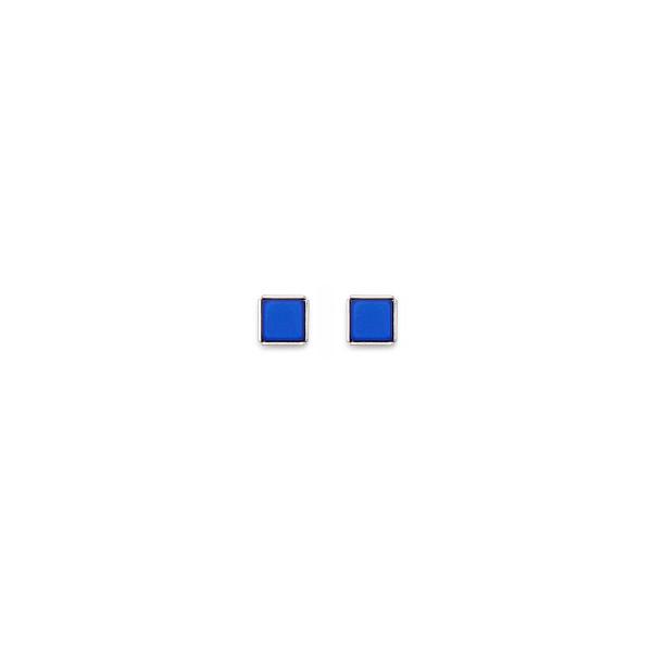 Ohrringe Polaris blau