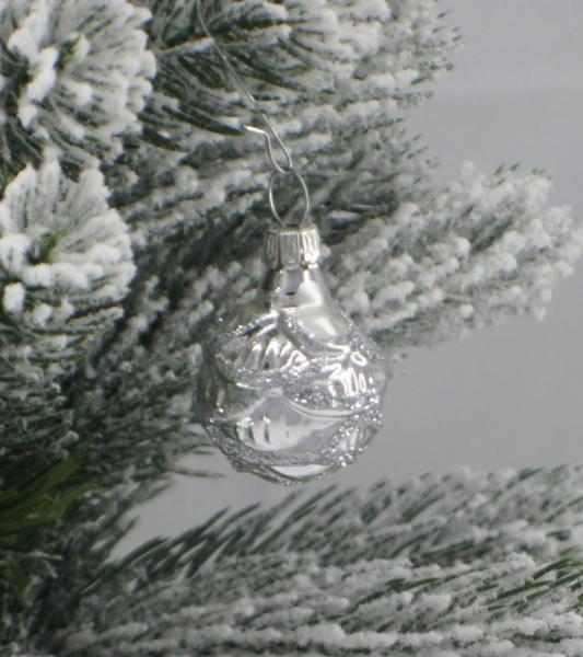Silber Christrose 3cm