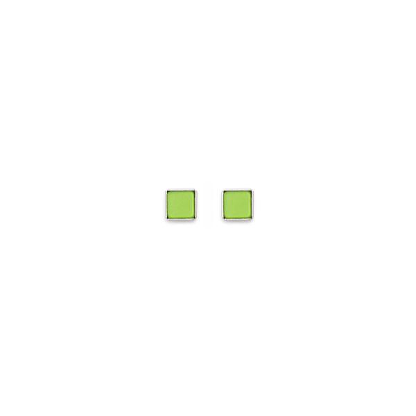Ohrringe Polaris hellgrün 0021_21-0520