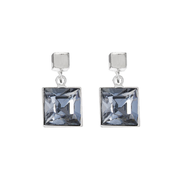 Ohrringe Swarovski® Kristalle grau 0080_21-1200