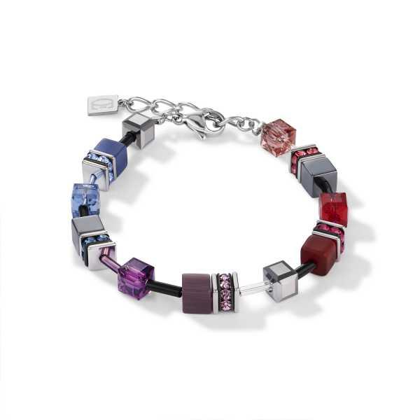 GeoCUBE® Armband multicolor art nouveau