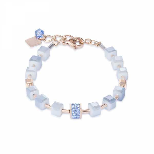 Armband Pavé-Kristalle Swarovski® Kristalle hellblau