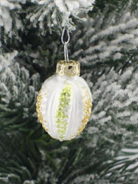 Eisweissgrün Perlei 3cm