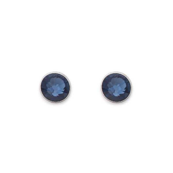 Ohrringe Swarovski® Kristalle dunkelblau