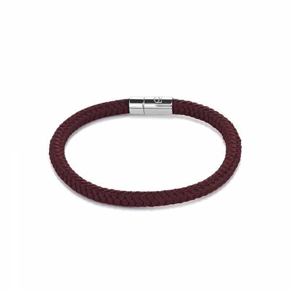 Armband Textil Magnetverschluß braun