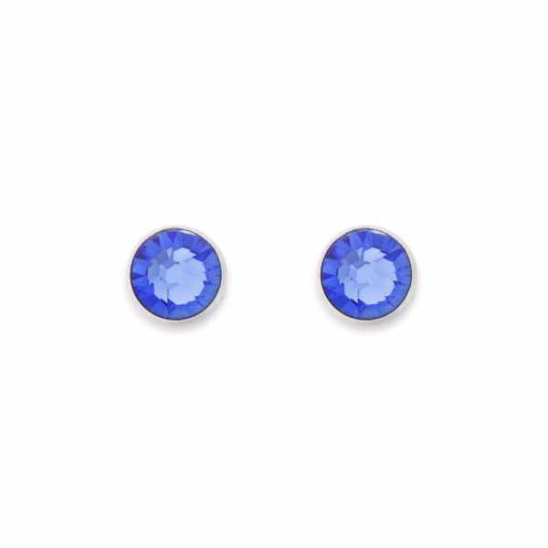 Ohrringe Swarovski® Kristalle blau
