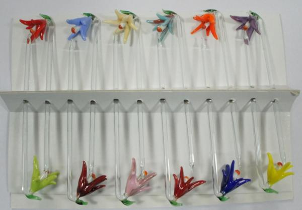 Bowlespieß Glockenblume bunt sortiert 12er Set