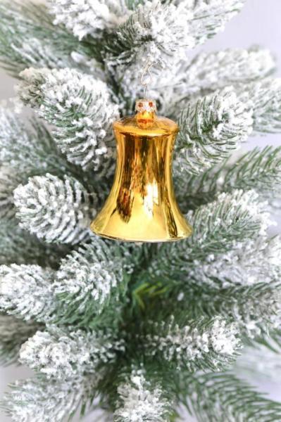 Gold Glocken 5cm 4er Set GG_GL_S4