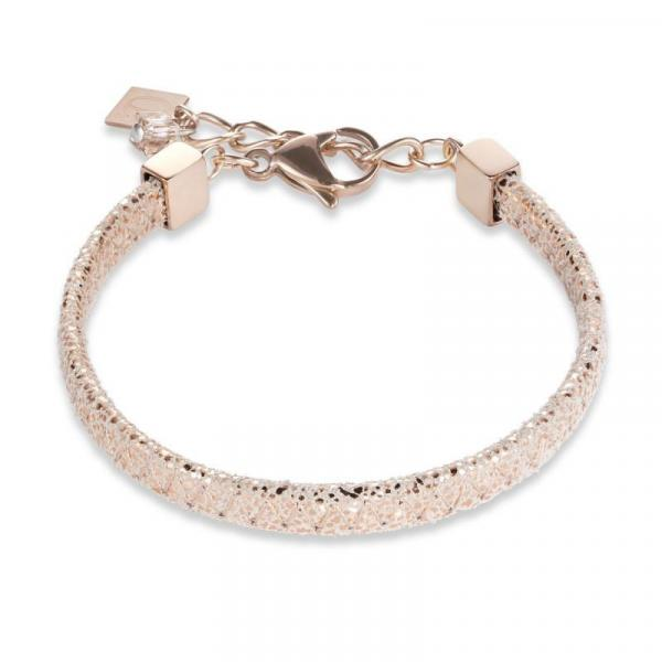 Armband Nappa-Leder roségold 0222_30-1620