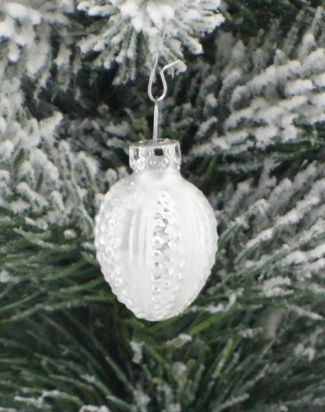 Eisweisssilber Perlei 3cm
