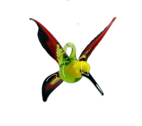 Bienenfresser aus Glas ( grün, gelb, rot, schwarz) VH_BF1