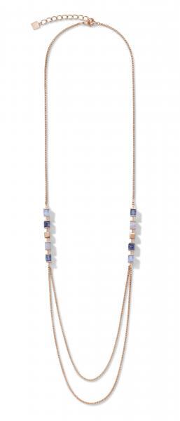 Halskette GeoCUBE® & Kette large blau 5053_10-0700