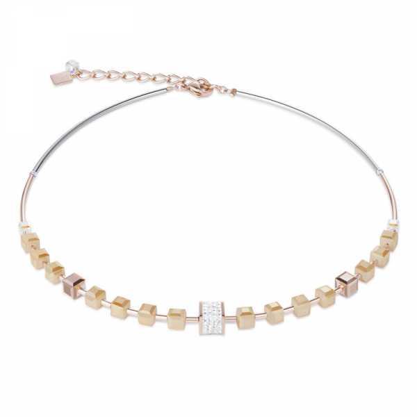 Halskette Pavé-Kristalle Swarovski® Kristalle nude