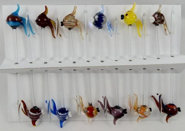 Bowlespieß Kugelfisch bunt sortiert 12er Set