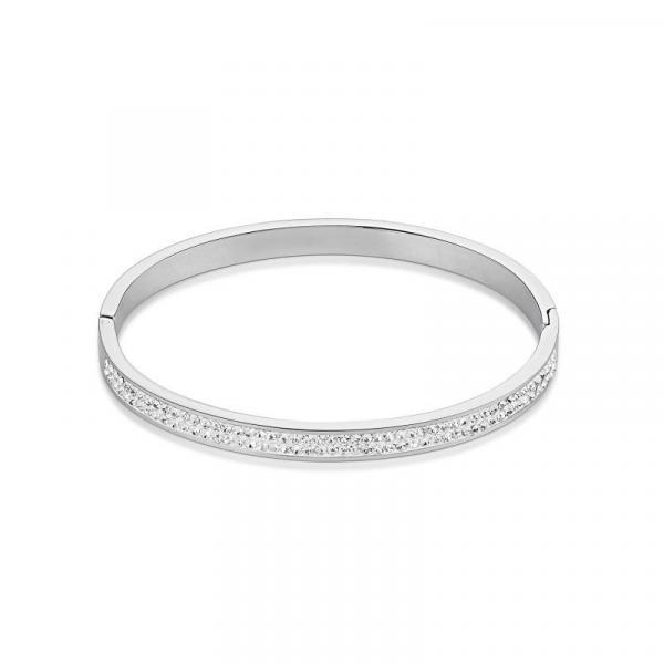 Armreif Edelstahl & Kristalle Pavé kristall 0114_37-1800